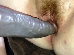 First time welsh gf took  faux-cock