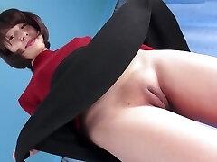 Hot Asian Pussy Camel-toe Closed-up