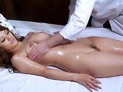 Best Japanese biotch Risa Tsukino in Amazing Small Tits, Massage JAV video