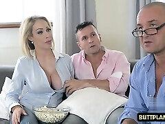 Big tits pornstar jug fuck and cum in mouth