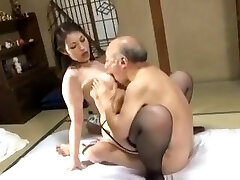 Anna Moriyama fucked with elderly men