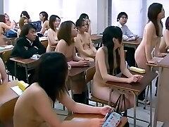 CMNF - Japanese bare girls school