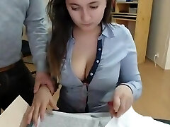Hot schoolgirls at web show