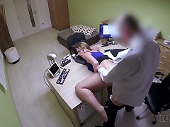 Nasty Czech chick Nata gets her pussy screwed for money