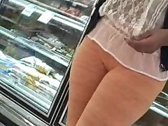 Orange Pants Camel Toe Slut