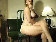 Farting Blonde milf