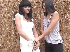 Lesbian Pissing Girls Sasha & Liza