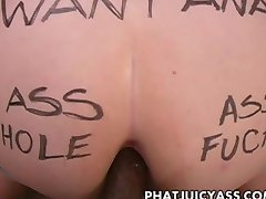 Phat Ass Amateur Gets Ass Pounded!