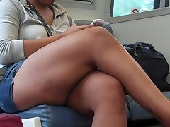 Candid Sexy Crossed Legs 20