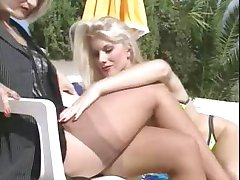 Nylon Stockings Lesbians By TROC
