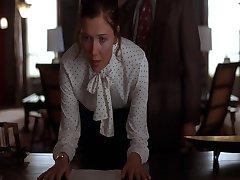 Maggie Gyllenhaal spanked