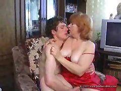 Russian Mature And Boy 211