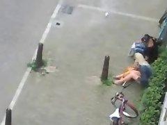 مردم داشتن رابطه جنسی در خیابان (هلند)