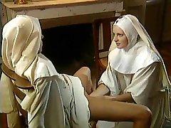 Classic Lesbian Nuns -  Superb Fisting