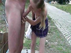 german skinny teen Parkplatz small titts cum must see