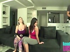 Kendra Lust and Sara Jay Threesome