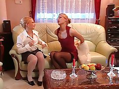 Lesbian Silvia Sun and her lesbian girlfriend