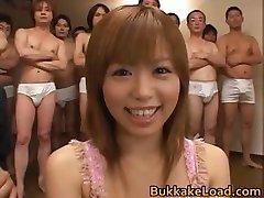 Hitomi Хаясака dość prawdziwe azjatyckie foxy часть2