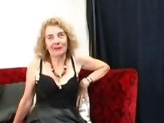 Granny Fancy's Herself A GangBang Slut