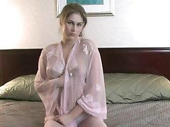 Pink Sheer in Bed - 2005