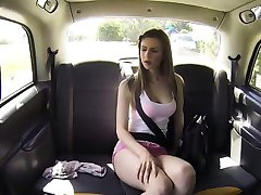Horny teen Stella gets banged in the cab