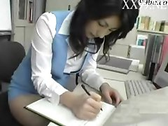 Cum inside Büro-Dame