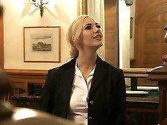 Lezbiyen üçlü İngiliz sürtük Samantha