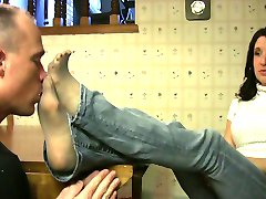 Foot Worship and Sniffing