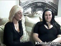 Sexy Bitch Wildly Smoking Hot Fetish