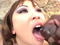 Asian Swallow gallons of cum