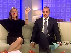 Meredith Vieira Upskirt TODAY Show