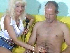 सैंड्रा ढंकी महिला नंगा मर्द,