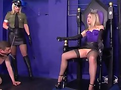 :- FEMDOM QUEEN & OFFICER -:  ukmike video