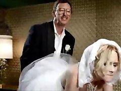 Невеста получает большую нагрузку спермы