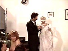 टीना, काले शादी की पार्टी