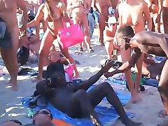 voyeur swinger plaži seks