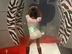 Hottest Latina Dancer Humping The Stage