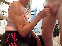 Babica 70 y.o blowjob