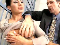 Сандра Ромейн - Анальный Секс В Тюрьме