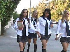 fata de scoala orgii