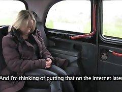 FakeTaxi - Szkocka blondynka z wielkim tyłkiem