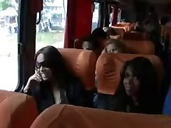 Big Anal Orgy in the Bus - Orgia no onibus