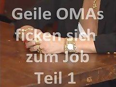 Omas ficken sich zum Job Teil 1