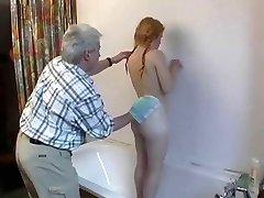 papá con el peludo adolescente