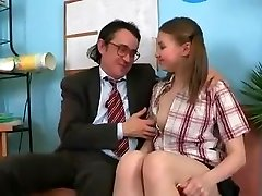 SB3 Cute Girl Gets Fucked By The Headmaster !