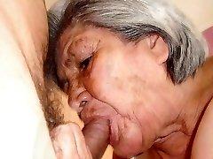 Kuum vana Vanaemad hämmastav alasti keha