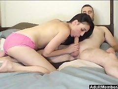 HomeMade Busty Amateur Couple On Cam