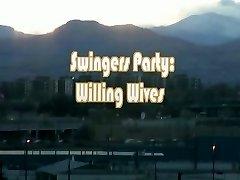 Swingers žiť v akcii