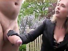 Huge Lollipop Gets Jerked and Cum