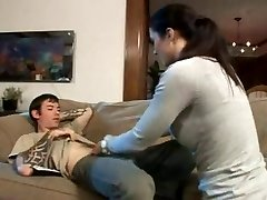 Very Hot step-mother has a dreamfuck with son-in-law
